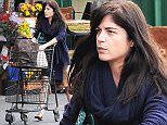 Picture Shows: Selma Blair  May 26, 2015    Actress and busy mom Selma Blair is spotted at Bristol Farms in West Hollywood, Calfiornia stocking up on groceries. Selma has been busy of late playing reality star Kris Jenner in the new FX series 'American Crime Story'.    Exclusive All Rounder  UK RIGHTS ONLY   Pictures by : FameFlynet UK © 2015  Tel : +44 (0)20 3551 5049  Email : info@fameflynet.uk.com