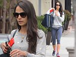 Picture Shows: Jordana Brewster  May 26, 2015\n \n 'Fast and Furious' star Jordana Brewster is seen leaving a gym after working out in Brentwood, California. With the announcement of 'Fast and Furious 8', fans of the series are wondering if Jordana will return to reprise her role as Mia Toretto. \n \n Non Exclusive\n UK RIGHTS ONLY\n \n Pictures by : FameFlynet UK © 2015\n Tel : +44 (0)20 3551 5049\n Email : info@fameflynet.uk.com