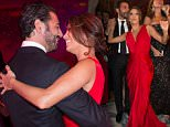 EXCLUSIVE ***NO WEB*** Eva Longoria and Jose Antonio Baston attending the Global Gift gala dinner, the Eva Longoria's foundation organized at the Four Seasons George V hotel in Paris. 25 May 2015. \n26 May 2015.\nPlease byline: Vantagenews.co.uk