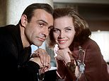 Film: GOLDFINGER (1964) with Sean Connery and Honor Blackman  HONOR BLACKMAN  Mandatory Credit: Photo by Konig / Rex Features (8780a)
