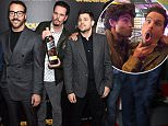 """NEW YORK, NY - MAY 27:  Kevin Connolly, Jeremy Piven, Kevin Dillon, Jerry Ferrara, Adrian Grenier and Doug Ellin attend the """"Entourage"""" New York Premiere at Paris Theater on May 27, 2015 in New York City.  (Photo by Jamie McCarthy/Getty Images)"""