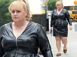 Picture Shows: Rebel Wilson  May 27, 2015.. .. Actress Rebel Wilson is seen leaving her trailer, on the set of 'How To Be Single' in New York City. The movie tells the story of a woman writing a book about bachelorettes, who finds herself mixed up in an international affair while doing research abroad... .. Exclusive All Rounder.. UK RIGHTS ONLY.. Pictures by : FameFlynet UK © 2015.. Tel : +44 (0)20 3551 5049.. Email : info@fameflynet.uk.com