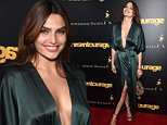 """NEW YORK, NY - MAY 27:  Alyssa Miller attends the """"Entourage"""" New York Premiere at Paris Theater on May 27, 2015 in New York City.  (Photo by Jamie McCarthy/Getty Images)"""