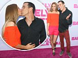 HOLLYWOOD, CA - MAY 27: Steve-O (R) and Stacey Solomon attend the 'Barely Lethal' Los Angeles Special Screnning on May 27, 2015 in Hollywood, California. (Photo by JB Lacroix/WireImage)