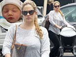 137764, EXCLUSIVE: Cacee Cobb goes shopping for kids clothes as steps out for the first time since giving birth to her and Donald Faison's second child, Wilder Frances. Los Angeles, California - Tuesday May 26, 2015. Photograph: Sam Sharma, © PacificCoastNews. Los Angeles Office: +1 310.822.0419 sales@pacificcoastnews.com FEE MUST BE AGREED PRIOR TO USAGE