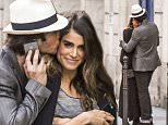 23.MAY.2015 - PARIS - FRANCE\n**EXCLUSIVE ALL ROUND PICTURES AVAILABLE FOR UK ONLY**\n** NO ONLINE UNTIL 6PM UK TIME **\nBACK FROM CANNES, IAN SOMERHALDER AND NIKKI REED ARRIVED WITH SOME FRIENDS INCLUDING PAUL WESLEY AT A PARISIAN RESTUARANT. THE COUPLE WALKED IN THE MARAIS DISTRICT WHERE THEY COULDNT KEEP THEIR HANDS OFF EACH OTHER.\nBYLINE MUST READ : XPOSUREPHOTOS.COM\n***UK CLIENTS - PICTURES CONTAINING CHILDREN PLEASE PIXELATE FACE PRIOR TO PUBLICATION ***\n**UK CLIENTS MUST CALL PRIOR TO TV OR ONLINE USAGE PLEASE TELEPHONE 0208 344 2007**
