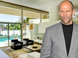 Action star Jason Statham has bought a Midcentury Modern man cave in the Hollywood Hills West for $2.7 million.