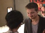 EXCLUSIVE: **NO USA TV AND NO USA WEB** MINIMUM FEE APPLY**   Wedding guests got a surprise when actor Jeremy Renner crashed the wedding they were attending in Houston. The Avengers star was in town for Comicpalooza when he decided to cruise into the reception at the Regency Hotel, where he was staying over the weekend. TMZ reports Jeremy hid at the bar to avoid upstaging the newlyweds but did chat to guests for about 15 minutes before heading out into Houston for the evening.  Pictured: Jeremy Renner Ref: SPL1034832  270515   EXCLUSIVE Picture by: TMZ.com / Splash News  Splash News and Pictures Los Angeles: 310-821-2666 New York: 212-619-2666 London: 870-934-2666 photodesk@splashnews.com