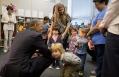 President Obama visits pre-schoolers at Adas Israel Congregation