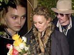 PREMIUM EXCLUSIVE: Johnny Depp's daughter Lily-Rose Depp celebrated her 'Sweet 16' Birthday with her mother Vanessa Paradis , her Father Johnny Depp and Amber Heard at 'Ago' Italian Restaurant in West Hollywood, CA. Lily-Rose can be seen leaving the backdoor of the restaurant behind a bodyguard while her mother Vanessa Paradis walks ahead. Amber heard tweeted that they were there too, but Amber and Johnny left out a side door surrounded by 5 bodygaurds.\n\nPictured: Vanessa Paradis and Lily-Rose Depp\nRef: SPL1037806  280515   EXCLUSIVE\nPicture by: SPW / Splash News\n\nSplash News and Pictures\nLos Angeles:310-821-2666\nNew York:212-619-2666\nLondon:870-934-2666\nphotodesk@splashnews.com\n