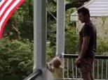 Chris Pratt Teaches Son Pledge of Allegiance