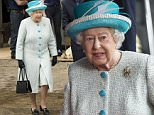 LANCASTER, ENGLAND - MAY 29:  Queen Elizabeth II visits Lodge Livery and Dairy Yard on May 29, 2015 in Lancaster, England.  (Photo by Mark Cuthbert/UK Press via Getty Images)