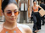 Mandatory Credit: Photo by Startraks Photo/REX Shutterstock (4796842d)\n Vanessa Hudgens\n Vanessa Hudgens out and about, New York, America - 28 May 2015\n Vanessa Hudgens on her way to a Performance of Gigi on Broadway Carrying a Package\n