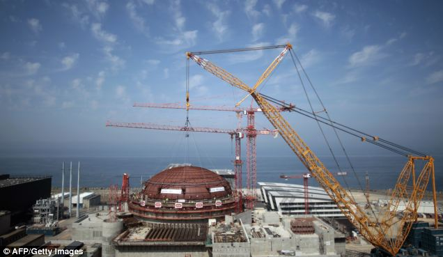 In July, a small crowd gathered to witness what French energy giant EDF claimed was the crowning glory of its 'spectacular' nuclear project