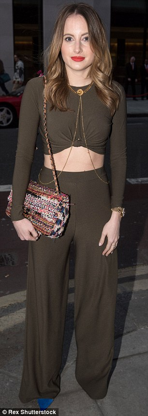 The results! Rosie recently showed off her taut torso when she stepped out at the launch party celebrating the new Ferrari 488 GTB in London
