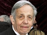 Nobel Prize winning mathematician John Forbes Nash and his wife Alicia  arrive at the 74th annual Academy Awards in Hollywood, California, in this file photo taken March 24, 2002.   Nash, whose life was portrayed in the movie 'A Beautiful Mind', died with his wife on Saturday in a taxi crash on the New Jersey Turnpike, according to news reports.  REUTERS/Fred Prouser/Files