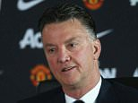 MANCHESTER, ENGLAND - MAY 15:  (EXCLUSIVE COVERAGE) Manager Louis van Gaal of Manchester United speaks during a press conference at Aon Training Complex on May 15, 2015 in Manchester, England.  (Photo by John Peters/Man Utd via Getty Images)