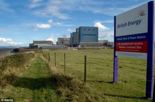 The plant at Hinkley, in Somerset, wiill be the first nuclear reactor in the UK in nearly 20 years