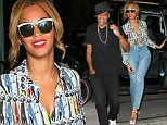 Beyonce and Jay-Z have dinner at La Esquina in NYC.\n\nPictured: Beyonce\nRef: SPL1040104  290515  \nPicture by: XactpiX/Splash\n\nSplash News and Pictures\nLos Angeles: 310-821-2666\nNew York: 212-619-2666\nLondon: 870-934-2666\nphotodesk@splashnews.com\n