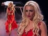****Ruckas Videograbs****  (01322) 861777\n*IMPORTANT* Please credit ITV for this picture.\n29/05/15\nBritains Got Talent\nGrabs from the semi-final tonight\nOffice  (UK)  : 01322 861777\nMobile (UK)  : 07742 164 106\n**IMPORTANT - PLEASE READ** The video grabs supplied by Ruckas Pictures always remain the copyright of the programme makers, we provide a service to purely capture and supply the images to the client, securing the copyright of the images will always remain the responsibility of the publisher at all times.\nStandard terms, conditions & minimum fees apply to our videograbs unless varied by agreement prior to publication.
