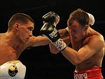 Matchroom Boxing 02 arena,  30/05/15: Kevin Quigley/Daily Mail/Solo Syndication Evgeny Gradovich v Lee Selby