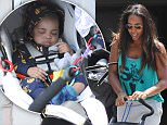 EXCLUSIVE: Kelly Rowland and her son Titan go shopping in Los Angeles, CA.\n\nPictured: Kelly Rowland and Titan Witherspoon\nRef: SPL1038510  270515   EXCLUSIVE\nPicture by: DutchLabUSA / Splash News\n\nSplash News and Pictures\nLos Angeles: 310-821-2666\nNew York: 212-619-2666\nLondon: 870-934-2666\nphotodesk@splashnews.com\n