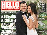 EMBARGOED TO 0001 SUNDAY MAY 31 Undated handout photo issued by Hello!magazine of the front cover of this week's edition showing the wedding of Michelle Keegan and Mark Wright.  PRESS ASSOCIATION Photo. Issue date: Sunday May 31, 2015. See PA story SHOWBIZ Keegan. Photo credit should read: Hello!/PA Wire NOTE TO EDITORS: This handout photo may only be used in for editorial reporting purposes for the contemporaneous illustration of events, things or the people in the image or facts mentioned in the caption. Reuse of the picture may require further permission from the copyright holder.