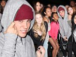 """eURN: AD*170890350  Headline: Justin Bieber poses with a huge group of fans at Mastro's Steakhouse Caption: Beverly Hills, CA - Looks like the Biebs is a popular guy! Justin Bieber graciously posed with a massive group of female fans on Friday night as he dined out at Beverly Hills hotspot Mastro's Steakhouse. Justin seemed to be in a playful mood as he smoked a cigar outside the restaurant and even made a kissy """"duck face"""" for one of the photos. AKM-GSI          May 29, 2015 To License These Photos, Please Contact : Steve Ginsburg (310) 505-8447 (323) 423-9397 steve@akmgsi.com sales@akmgsi.com or Maria Buda (917) 242-1505 mbuda@akmgsi.com ginsburgspalyinc@gmail.com Photographer: MONT  Loaded on 30/05/2015 at 16:18 Copyright:  Provider: Shotgetter/AKM-GSI  Properties: RGB JPEG Image (12210K 1096K 11.1:1) 2500w x 1667h at 72 x 72 dpi  Routing: DM News : GeneralFeed (Miscellaneous) DM Showbiz : SHOWBIZ (Miscellaneous) DM Online : Online Previews (Miscellaneous), CMS Out (Miscel"""