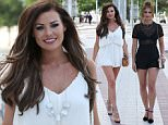 TOWIE cast members spotted arriving at a hotel in Marbella for press duties.\n\nRef: SPL1040339  300515  \nPicture by: Charlie / Splash News\n\nSplash News and Pictures\nLos Angeles: 310-821-2666\nNew York: 212-619-2666\nLondon: 870-934-2666\nphotodesk@splashnews.com\n