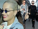 Rita Ora arrives at the Haymarket Theatre with some friends, to watch Bradley Cooper perform in a production of 'The Elephant Man' Featuring: Rita Ora Where: London, United Kingdom When: 29 May 2015 Credit: Will Alexander/WENN.com