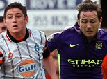 Frank lampard playing for Swansea against Wrexham - Copyright unknown