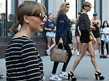 Picture Shows: Taylor Swift  May 30, 2015\n \n Singer Taylor Swift and friends Gigi Hadid and Martha Hunt leave her apartment in New York City, New York. Taylor is heading to the airport to fly to Detroit to begin her massive summer tour. \n \n Non-Exclusive\n UK Rights Only\n \n Pictures by : FameFlynet UK © 2015\n Tel : +44 (0)20 3551 5049\n Email : info@fameflynet.uk.com