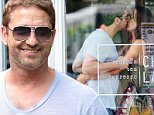 137892, EXCLUSIVE: Gerard Butler seen out with his girlfriend Morgan Brown in West Village, NYC. The couple was also seen kissing in a coffee shop. Photograph: © PacificCoastNews. Los Angeles Office: +1 310.822.0419 sales@pacificcoastnews.com FEE MUST BE AGREED PRIOR TO USAGE