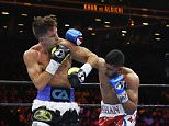 Boxing - Amir Khan v Chris Algieri - Barclays Center, Brooklyn, New York City, United States of America - 29/5/15  Amir Khan in action against Chris Algieri  Action Images via Reuters / Andrew Couldridge  Livepic