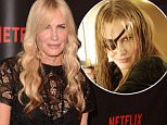 """SAN FRANCISCO, CA - MAY 27:  Actress Daryl Hannah attends the Premiere Of Netflix's """"Sense8"""" at AMC Metreon 16 on May 27, 2015 in San Francisco, California.  (Photo by C Flanigan/Getty Images)"""