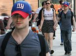 30.MAY.2015 - NEW YORK CITY - USA\nACTOR DANIEL RADCLIFFE AND GIRLFRIEND ERIN DARKE HOLD HANDS AS THEY STEP OUT FOR A LITTLE SHOPPING AROUND MANHATTAN BEFORE HEADING TO THE THEATRE.\nBYLINE MUST READ : XPOSUREPHOTOS.COM\n*AVAILABLE FOR UK SALE ONLY*\n***UK CLIENTS - PICTURES CONTAINING CHILDREN PLEASE PIXELATE FACE PRIOR TO PUBLICATION ***\n*UK CLIENTS MUST CALL PRIOR TO TV OR ONLINE USAGE PLEASE TELEPHONE 0208 344 2007*