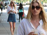 """Picture Shows: Elsa Hosk  May 30, 2015\n \n Victoria's Secret model Elsa Hosk makes a morning coffee run in New York City, New York. Elsa has been a huge activist against human trafficking, telling Glamour, """"It is real, and it's happening everywhere. We need to open people's eyes to one the most cruel things that is happening to women and girls today."""" \n \n Non Exclusive\n UK RIGHTS ONLY\n \n Pictures by : FameFlynet UK © 2015\n Tel : +44 (0)20 3551 5049\n Email : info@fameflynet.uk.com"""