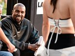 LOS ANGELES, CA - MAY 29:  Musician/designer Kanye West attends the Gold Thimble Fashion Show at the Los Angeles Trade-Technical College on May 29, 2015 in Los Angeles, California.  (Photo by Frazer Harrison/Getty Images)
