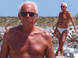 EXCLUSIVE ALL ROUNDER Designer Giorgio Armani on holiday in Ibiza, 30 May 2015\n31 May 2015.\nPlease byline: G Tres/Vantagenews.co.uk