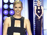 Actress Charlize Theron presents The Critics' Choice Louis XIII award at the 5th Annnual Critics' ChoiceTelevision Awards in Beverly Hills, California May 31, 2015  REUTERS/Kevork Djansezian