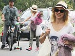 Picture Shows: Naomi Watts  May 31, 2015.. .. Couple Naomi Watts and Liev Schreiber are seen leaving the Farmer's Market with their sons Alexander and Samuel in Brentwood, California. It's back to business as usual for Naomi who recently returned from the Cannes Film Festival in France. .. .. Non-Exclusive.. UK RIGHTS ONLY.. .. Pictures by : FameFlynet UK © 2015.. Tel : +44 (0)20 3551 5049.. Email : info@fameflynet.uk.com