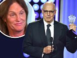 """BEVERLY HILLS, CA - MAY 31:  Actor Jeffrey Tambor accepts the Best Actor in a Comedy Series award for """"Transparent"""" onstage at the 5th Annual Critics' Choice Television Awards at The Beverly Hilton Hotel on May 31, 2015 in Beverly Hills, California.  (Photo by Kevin Winter/Getty Images)"""