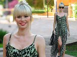 """31 May 2015. """"The Only Way Is Essex"""" cast seen out and about in Marbella this evening.  Pictured, Chloe Sims Credit: GoffPhotos.com   Ref: KGC-102"""