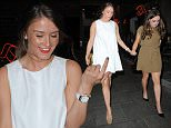 EXCLUSIVE ALL ROUNDER Coronation Street's Brooke Vincent enjoys a night out with the girlfriends in Manchester's Neighbourhood in Spinningfields in the city centre before heading off to party at Club LIV on Peter Street, 29 May 2015\n30 May 2015.\nPlease byline: Vantagenews.co.uk