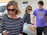Picture Shows: Calista Flockhart  May 31, 2015\n \n 'Supergirl' actress Calista Flockhart is spotted out and about in Santa Monica, California with her son Liam and her mother Kay. Missing from the outing was Calista's husband Harrison Ford.\n \n Exclusive All Rounder\n UK RIGHTS ONLY\n \n Pictures by : FameFlynet UK � 2015\n Tel : +44 (0)20 3551 5049\n Email : info@fameflynet.uk.com