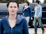 EXCLUSIVE TO INF.\nMay 31, 2015: Ireland Baldwin in hoodie and sweatpants gets coffee with a friend, Los Angeles, CA.\nMandatory Credit: Lazic/Borisio/INFphoto.com Ref.: infusla-257/277