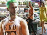 EXCLUSIVE: Jared Leto shops for groceries at a deli store and picks up take out food at a restaurant with a mystery female in New York City.\n\nPictured: Jared Leto\nRef: SPL1040850  300515   EXCLUSIVE\nPicture by: Splash News\n\nSplash News and Pictures\nLos Angeles: 310-821-2666\nNew York: 212-619-2666\nLondon: 870-934-2666\nphotodesk@splashnews.com\n