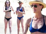 Exclusive... 51758446 Actress Robin Wright and her daughter Dylan Penn enjoy a day on the beach in Mexico on May 29, 2015. The pair were enjoying a mother/daughter vacation with a friend. FameFlynet, Inc - Beverly Hills, CA, USA - +1 (818) 307-4813