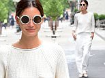 Lily Aldridge was spotted looking beautiful, as she made a makeup free Starbucks run in SoHo on Monday.  The model was preparing for the CFDA's . She wore all white on the short walk, with white sunglasses and pointy tipped flats.\n\nPictured: Lily Aldridge\nRef: SPL1040332  010615  \nPicture by: 247PAPS.TV / Splash News\n\nSplash News and Pictures\nLos Angeles: 310-821-2666\nNew York: 212-619-2666\nLondon: 870-934-2666\nphotodesk@splashnews.com\n