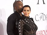 The 2015 CFDA Fashion Awards in NYC.  Pictured: Kanye West and Kim Kardashian Ref: SPL1042430  010615   Picture by: Janet Mayer / Splash News  Splash News and Pictures Los Angeles: 310-821-2666 New York: 212-619-2666 London: 870-934-2666 photodesk@splashnews.com